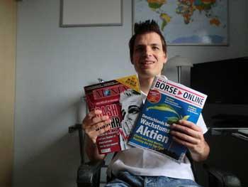 Empfehlenswerte Finanzzeitschriften und -magazine