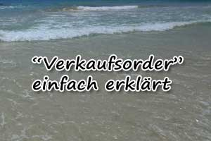 Verkaufsorder: Definition