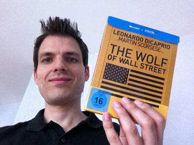Film und Blu-ray von The Wolf of Wall Street im Review