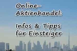 Aktien kaufen: Online-Broker-Tipps