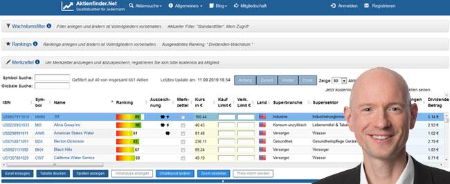 Aktienanalyse-Tool-Aktienfinder-Test